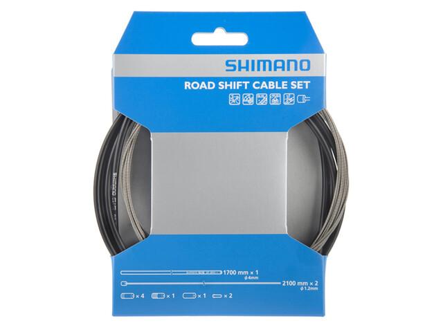 Shimano OT-SP41 Gearkabel Road, rustfrit stål sort